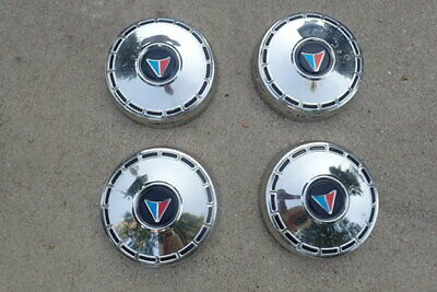 1964-66 Plymouth Valiant, Barracuda dog dish hub caps, NOS!
