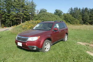 2009 Subaru Forester - 173,000 kms (AWD, Automatic)
