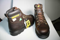 CAT STEEL TOE BOOTS - CSA APPROVED
