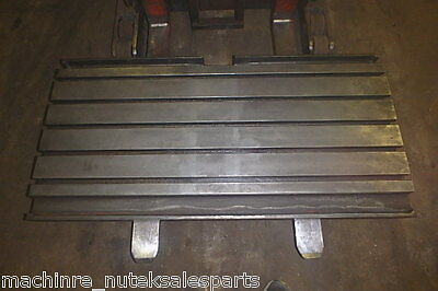 50 X 19.75 X 6 Steel Welding T-slotted Table Cast Iron Layout Plate T-slot