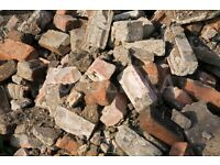 BRICK RUBBLE HARDCORE AVAILABLE FOR FREE - LOTS OF GOOOD BRICKS BERWICK-UPON-TWEED HARDCORE