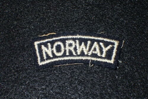 WW2 Free Norwegian Military Forces Attached to British