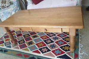Solid Coffee Table North Lambton Newcastle Area Preview