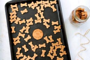Home Made Peanut Butter Dog Treats