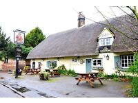 Chef postion in village country pub (live in available) 2days off together, 28days holiday.