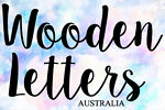 Wooden Letters Australia