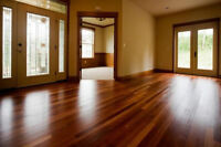 Hard Wood Floor Sanding and Staining
