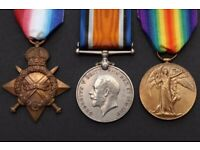 Sell your WW1 and WW2 medals!