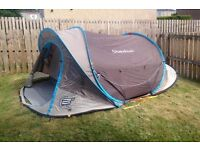 Quechua pop up 3 man tent