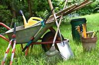 Yard work a hassle, Let us take that burden off your shoulders