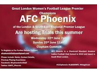 Competitive Ladies Football Team Looking for Players