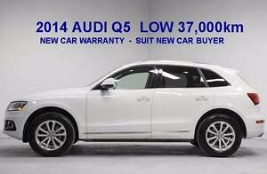 2014 Audi Q5 TDI Wagon- Diesel  NEW CAR WARRANTY -LOW 38000 Km Biggera Waters Gold Coast City Preview