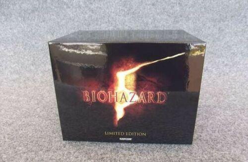 Resident Evil 5 BIOHAZARD 5 Limited Edition Box Chris BSAA e-CAPCOM 2009 PS3