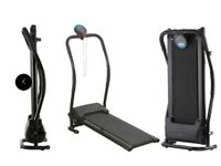 Treadmill / Exercise Bike and folding weights bench