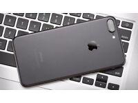 New iPhone 7 Plus 256GB in Matte Black