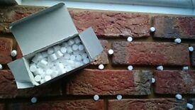 Brick Tile / Slips Spacers/Props. in 1 box - 220 spacers