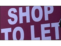 Looking for a shop to rent Shawlands Area....
