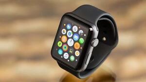 Apple Watch Series 2, 42mm Screen, Black Sport Band