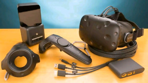 HTC VIVE VR Headset with Controllers