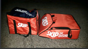 Skip the dishes pizza and thermal bag