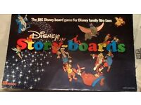 Rare Disney story boards game