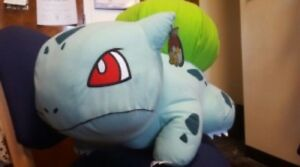 Large Bulbasaur plush from red river ex