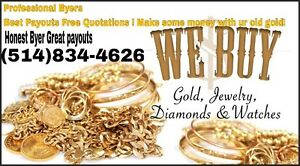Honnest licensed Gold Byers ! With over 35 years exp!
