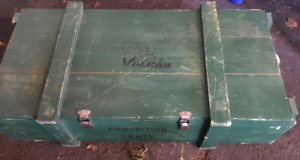Storage Wooden Crate BOX Ammunition Vulcan Heavy Duty
