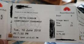 WWE UK Championship tickets 19th June 2018 x3 tickets