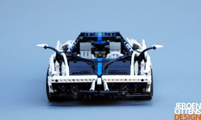 f86ab9bf7de ... LEGO Technic - MOC - Mooie Pagani Huayra BC-veiling voor lie