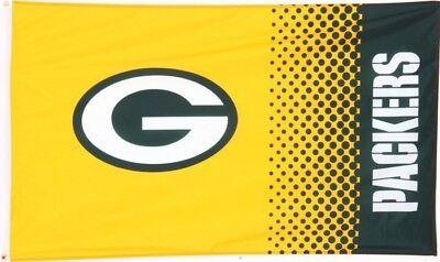 Flagge Hissflagge NFL Green Bay Packers Fan 90 x 150 cm Fahne