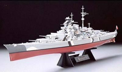 Tamiya 1/350 Bismarck Battleship 78013