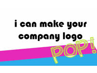Make your company logo stand out! L@@K! attract the attention you need!