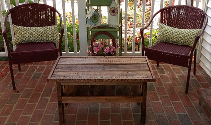 How To Build Outdoor Furniture From Pallets