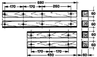 Welger Führungsholz  Kolbenholzsatz Set Welger AP12 AP12 Teil.Nr. 1103.16.02.01