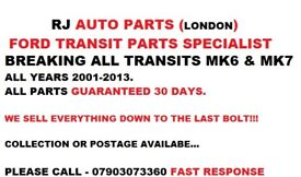 FORD TRANSIT ALTERNATOR 2.4 YEARS 2001-2006 MK6 ALL PARTS CALL...