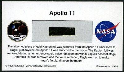 Own a Genuine Piece of the Apollo 11 Lunar Module, Eagle, For Just $12.95 w/COA