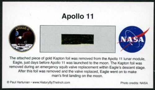 Apollo 11 Own a Genuine Piece of the Lunar Module, Eagle - Just $29.95 w/COA