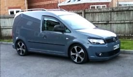 VW Caddy 1.6 tdi 5 seats alloys lowered remapped 2012 Volkswagen crew