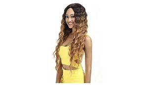 Gently Used Beautiful Lace Front Syntheic Wig (dark roots)