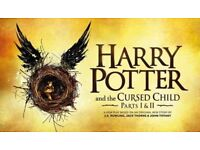 2x Tickets for Harry Potter and the Cursed Child Parts 1&2