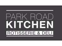 Park Road Kitchen is expanding and needs chefs / kitchen assistants