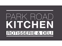 Park Road Kitchen is expanding and needs chefs