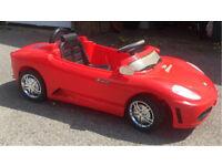 Kids 6 v electric car Ferrari Roadster Style