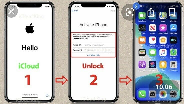 iCLOUD UNLOCK SERVICE iCLOUD REMOVAL FOR iPHONE 11, 11 PRO, 11 PRO MAX, iPAD,12