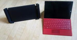 Microsoft Surface 3 64Gb + Clavier + Dock