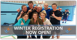 Play Co-ed, Adult, For Fun Volleyball this Winter in St. Thomas London Ontario image 1