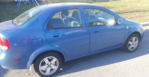 Aveo 2006 Quebec Plated