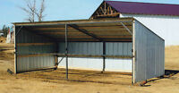Calf Sheds 16' & 32' all metal