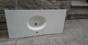 SELLING ::: Crystal White Quartz / Marble Countertops